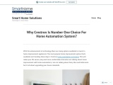 Why Crestron Is Number One Choice For Home Automation System?