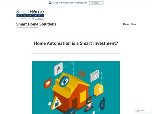 Home Automation is a Smart Investment?