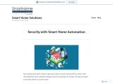 Security with Smart Home Automation