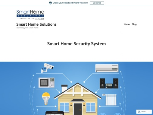 Smart Home Security System…..