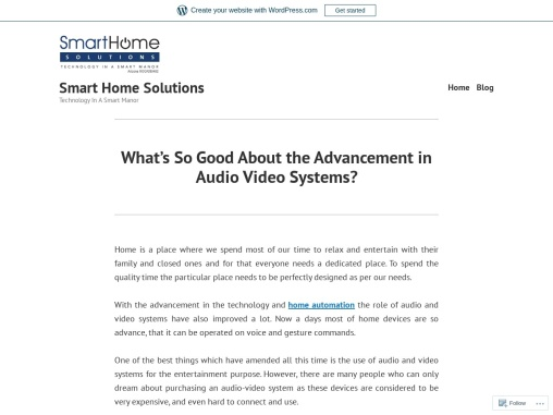 What's So Good About the Advancement in Audio Video Systems?