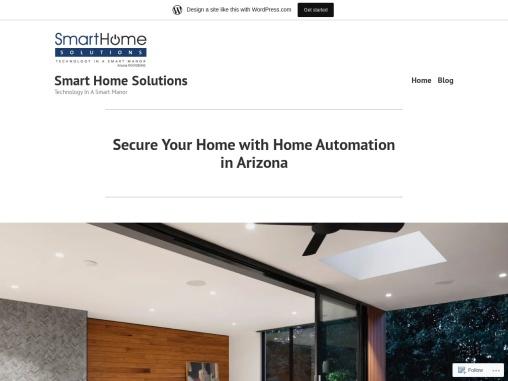 Smart Home Solutions in Arizona