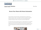 Secure Home With Home Automation