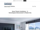 Home Theatre Installation – A Technological Advancement in Modern Era