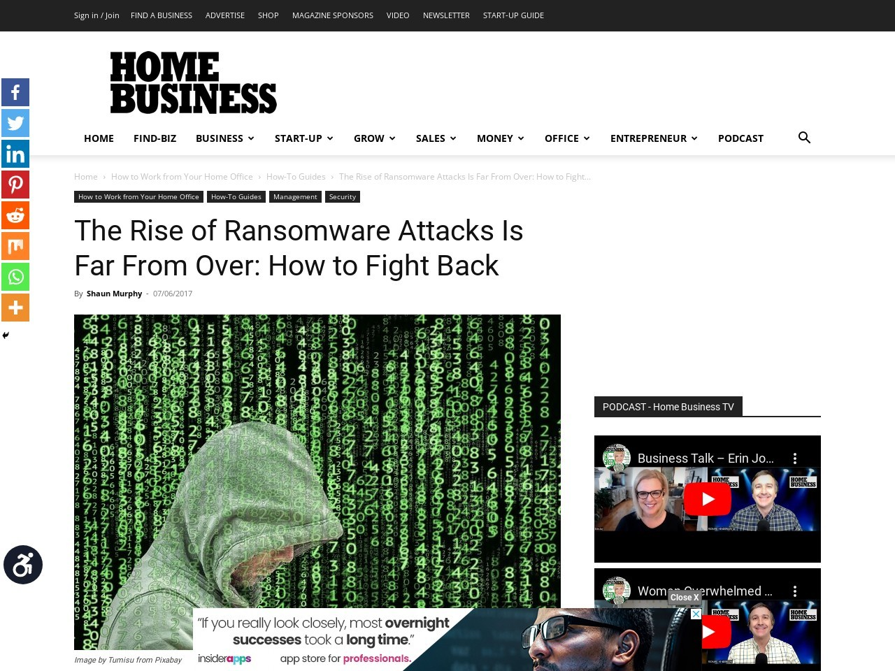 The Rise of Ransonware Is Far From Over: How to Fight Back