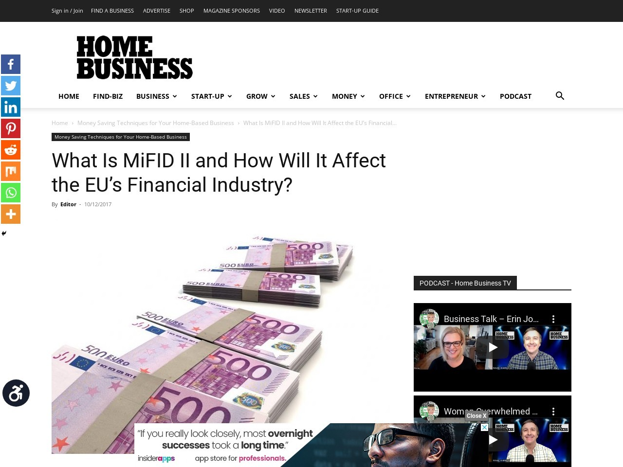 What Is MiFID II and How Will It Affect the EU's Financial Industry?
