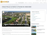 Best Places to Retire to in Florida