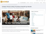 12 Best Times to Buy Furniture Month by Month