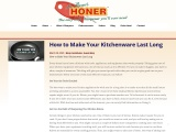 How to Make Your Kitchenware Last Long