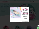 Baby Bed, Pregnancy & Feeding Pillow | Hoopa Baby