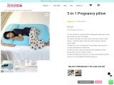 3-in-1 Pregnancy pillow | HOOPA Baby