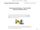 Environmental Allergies – Tips That Will Help You Cope With Them