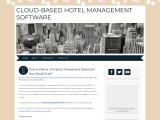 How to Choose a Property Management System for Your Small Hotel?