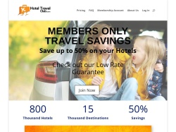 HotelTravelClub.com screenshot