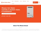rheem water cylinders systems pumps | hot water shop