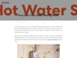 How Does A Gas Water Heating Works