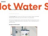 How a Gas Hot Water Cylinder Works