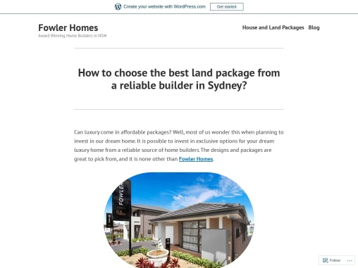 Affordable Land Packages in Sydney