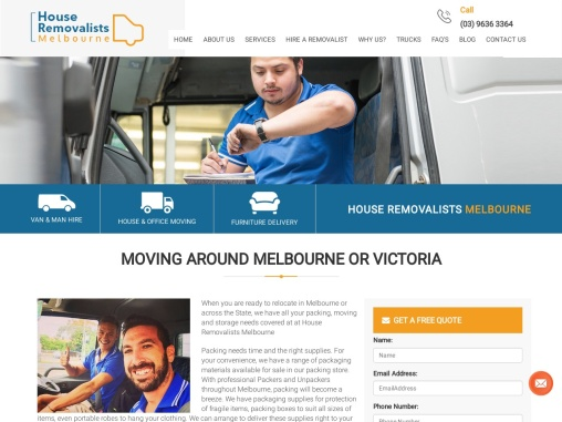 MOVING AROUND MELBOURNE OR INTERSTATE
