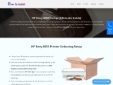Simple Guide For HP Envy 6055 Setup And Driver download