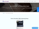 Xerox Versalink C405 Setup & Driver Download | How To Install