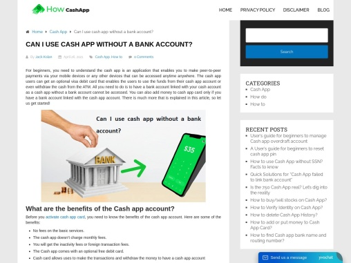 Use Cash App Without Bank Account
