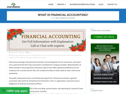 What is Financial Accounting? || Howfixerrors