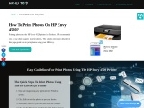 Easy Guidelines For How To Print Photos On HP Envy 4520 Printer