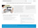 HP print assistent and scan doctor