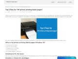 """Top 5 fixes for """"HP printer printing blank pages"""""""