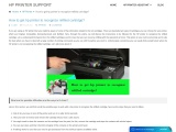 How to get hp printer to recognize refilled cartridge?