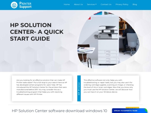 HP Solution Center software download windows 10 | HP Support