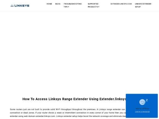 Linksys Extender Setup & Login Guide