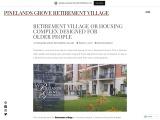 Retirement village or housing complex designed for older people