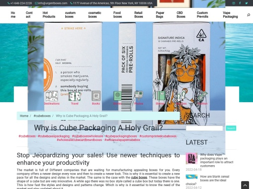 Why is Cube Packaging A Holy Grail?