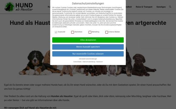 Hund-als-Haustier.de - Der Hunderatgeber
