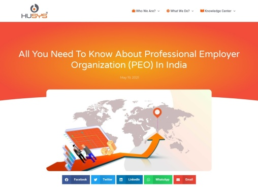 All You need to Know about Professional Employer Organization