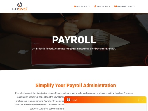 Payroll Processing Services Company For SME's