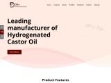 Leading Manufacturer, Supplier & Exporter of Hydrogenated Castor oil – Dev International