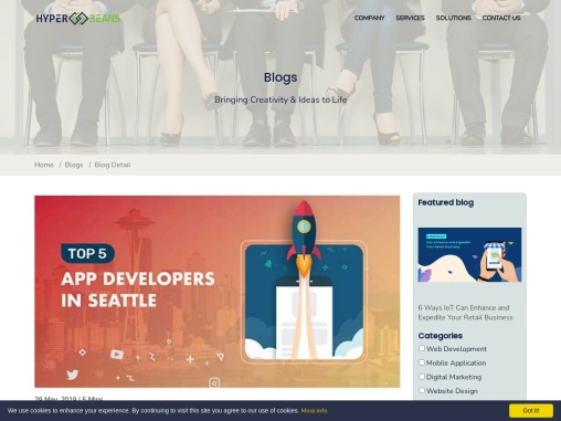 Do You Know the Top 5 App Developers in Seattle?