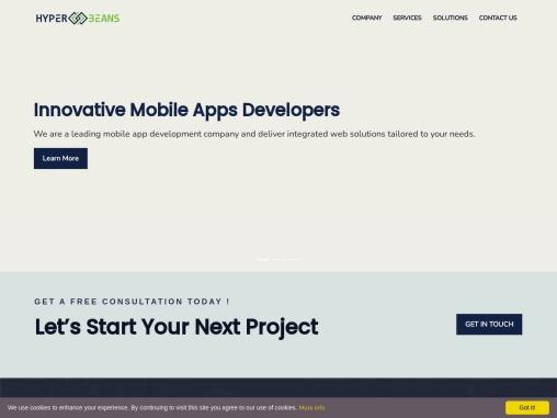 Web Design & Development Company in Seattle – HyperBeans