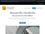 Hyra porslin Stockholm