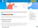 2021 SEO Trends: How to Rank Higher in Search Results