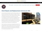 #1 Vancouver WA Deck Contractor