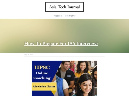 How To Prepare For IAS Interview?