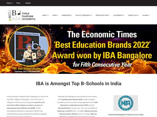 Top MBA Colleges in Bangalore – IBA