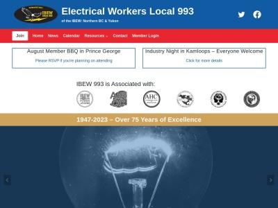IBEW LU 993