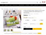 Floral Digital Printed Cushions Cover