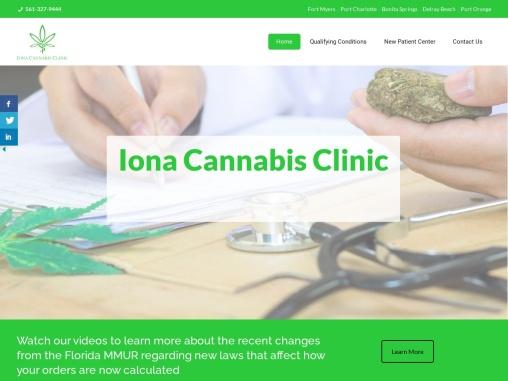 Medical Marijuana Clinic in  Delray Beache, Florida | Iona Cannabis Clinic
