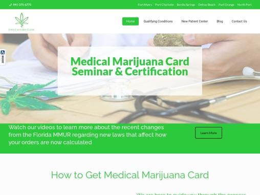 Medical Marijuana Clinic in  Port Charlotte, South Florida | Iona Cannabis Clinic